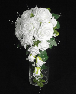 Champagne Range Diamante Wedding Flowers