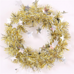Christmas Tinsel Wreaths