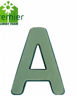 Floral Foam Clip On Letters