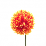 Orange 43cm Spiky Chrysanthemum 870091