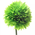 Lime Green 43cm Spiky Chrysanthemum 870114
