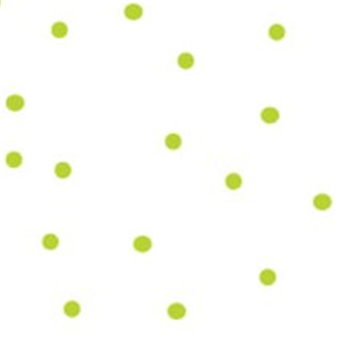 Lime Green Random Dots Cellophane Roll 854602
